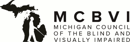 Michigan Council of the Blind and Visually Impaired - New M C B V I Logo